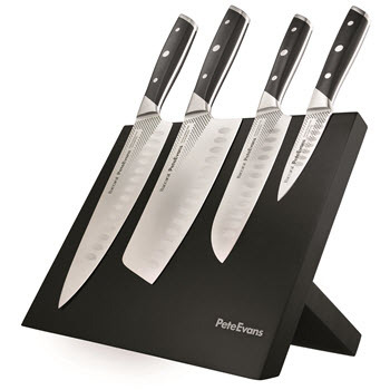 Baccarat Pete Evans 5 Piece Knife Block
