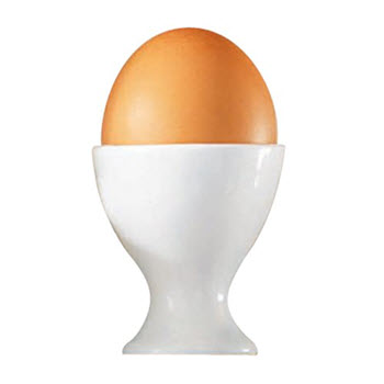 Alex Liddy Modern White Egg Cup
