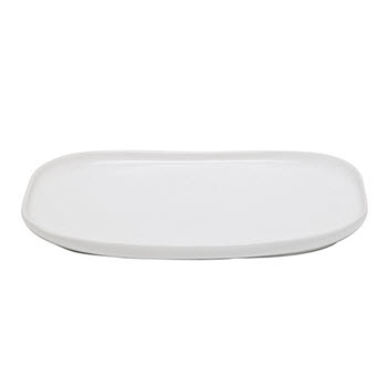 Alex Liddy Share White Rectangle Platter 33cm