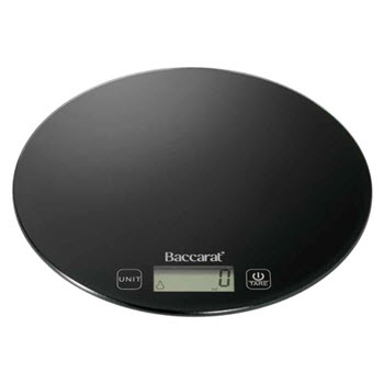 Baccarat Global 5kg/1g Electric Scale Black