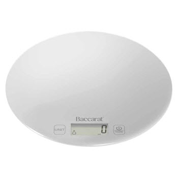 Baccarat Global 5kg/1g Electric Scale White