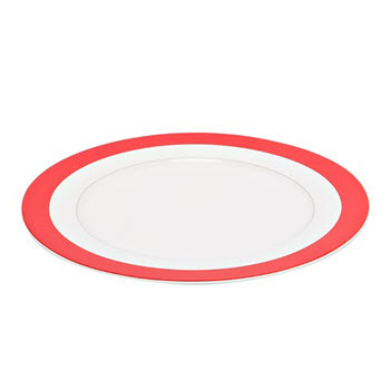 Alex Liddy Fizz 26.8cm Dinner Plate Red