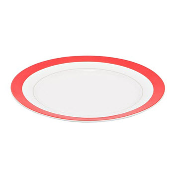 Alex Liddy Fizz 20cm Side Plate Red