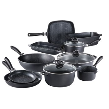 Baccarat Stone 10 Piece Cookware Set