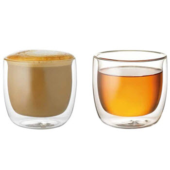 Baccarat Barista Tempo 250ml Double Wall Glass Set of 2