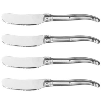 Marie Claire Laguiole Domain Set of 4 Pate Knife Steel