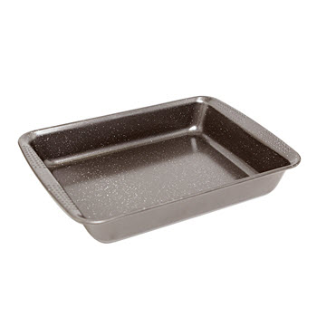 Baccarat Granite 30 x 24cm Rectangular Cake Pan