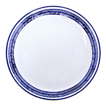 Alex Liddy Azul 28cm Dinner Plate Chevron