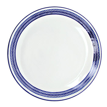 Alex Liddy Azul 21cm Side Plate Chevron