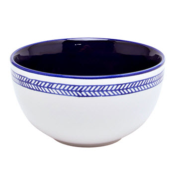 Alex Liddy Azul 15 x 8cm Bowl Chevron