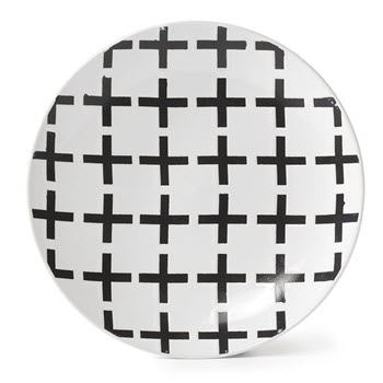 Alex Liddy Modern Mix 21cm Side Plate Crosses