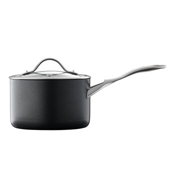 Baccarat iD3 Hard Anodised 18 x 11cm Saucepan With Lid