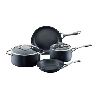 Baccarat iD3 Hard Anodised 4 Piece Cookware Set