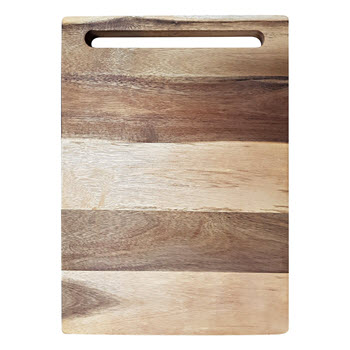 Baccarat Butchers Corner Acacia 43cm Rectangle Chopping Board