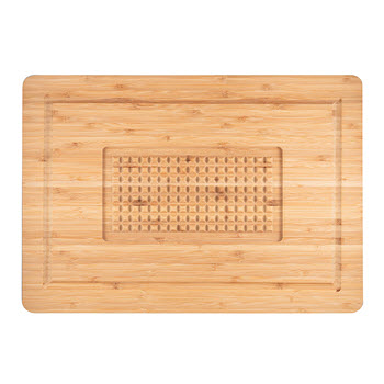 Baccarat Butchers Corner Bamboo Carving Board 45cm