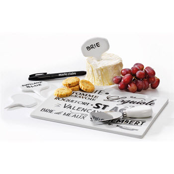 Marie Claire I Love Paris Cheese Board Set