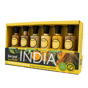Baccarat Spice Market Taste of The World Spice Set India