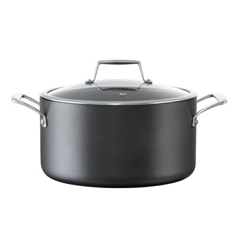 Cuisinepro Diamond 9 Hard Anodised Aluminium Non-Stick Stockpot 26 x 13.7cm