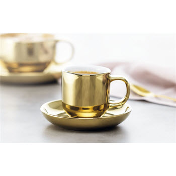 Alex Liddy Bistro Chic Espresso Cup and Saucer