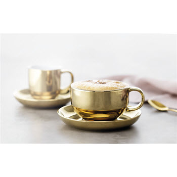 Alex Liddy Bistro Chic Teacup and Saucer