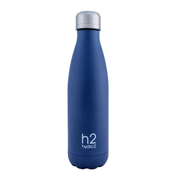 Hydro2 Quench Double Wall Stainless Steel Drink Bottle 500ml Navy