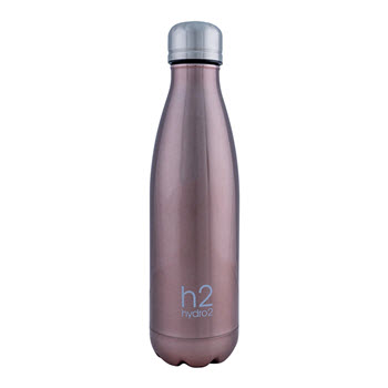 Hydro2 Quench Double Wall Stainless Steel Drink Bottle 500ml Gold