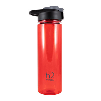 Hydro2 Fit Tritan Drink Bottle Red 750ml