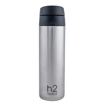Hydro2 Fit Double Wall Stainless Steel One-Touch Tumbler 400ml