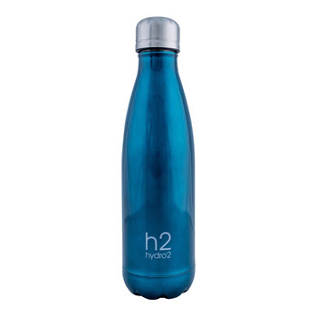 Hydro2 Quench Double Wall Stainless Steel Drink Bottle 500ml Teal