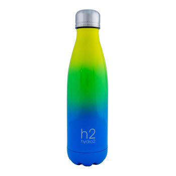 Hydro2 Quench Double Wall Stainless Steel Drink Bottle 500ml Ombre