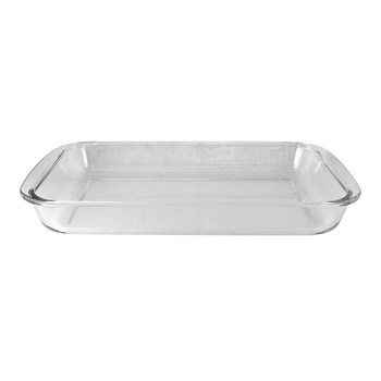 Cuisine::pro Ovenbake Borosilicate Glass Rectangle Baker 2L/34.5 x 20.6 x 5cm