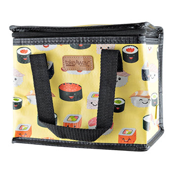 TakeAway Out Insulated Lunch Bag Sushi