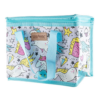 TakeAway Out Insulated Lunch Bag Unicorn