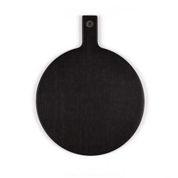 Alex Liddy Noir Quality Bamboo Round Paddle Board 35cm