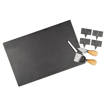 Alex Liddy Slate & Co Slate Cheese Serving Set