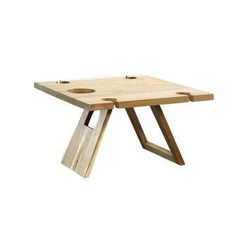 Alex Liddy Acacia Picnic Table 40cm