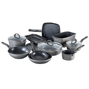 Cuisinepro Health Pan Cast Aluminium Non Stick 10 Piece Cookware Set