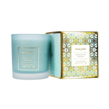 Marie Claire Mosaique Festival of Fields Candle in Jar 265ml