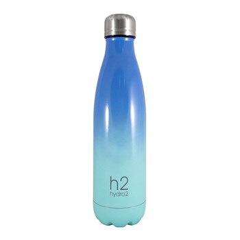Hydro2 Double Wall Stainless Steel Drink Bottle 500ml Blue Ombre