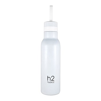 Hydro2 Quench Double Wall Stainless Steel Drink Bottle 500ml White