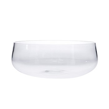 Alex Liddy Slate & Co Rounded Glass Serving Bowl 26cm