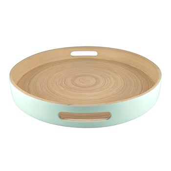 Alex Liddy Breeze Bamboo Serving Tray 35cm Mint Green