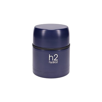 Hydro2 Togo Double Wall Stainless Steel Food Jar 470ml Navy Blue