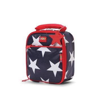 Penny Scallan Navy Star Thermal Insulated Lunchbox 20 x 24 x 10cm
