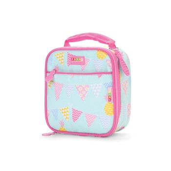 Penny Scallan Pineapple Bunting Thermal Insulated Lunchbox 20 x 24 x 10cm