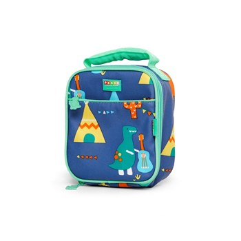 Penny Scallan Dino Rock Thermal Insulated Lunchbox 20 x 24 x 10cm