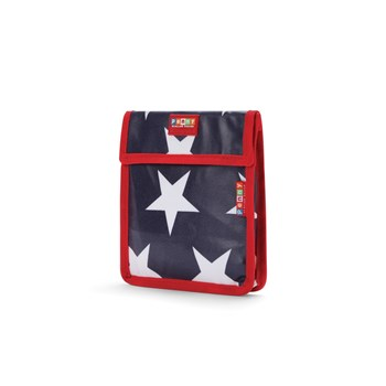 Penny Scallan Navy Star Thermal Insulated Snack Bag 19cm