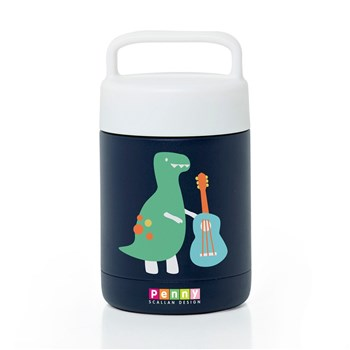 Penny Scallan Dino Rock Double Wall Vacuum Insulated Thermal Flask 350ml