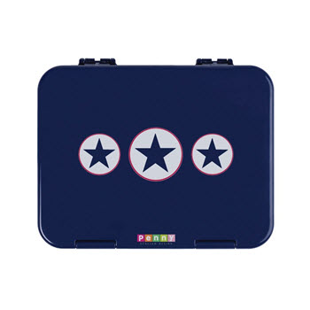 Penny Scallan Bento Box Navy Star