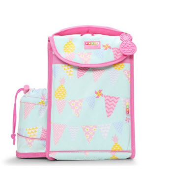 Penny Scallan Insulated School Lunchbox Pineapple Bunting